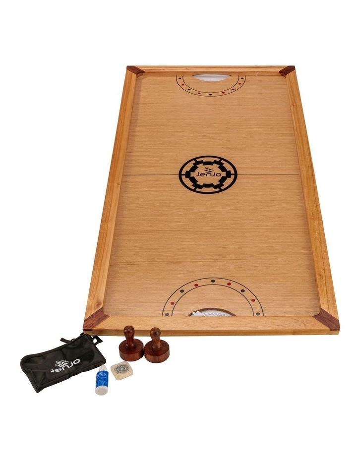 Shuffle Puck Wooden Ice Hockey Game image 1