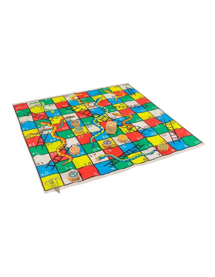 2 in 1 Giant Snakes, Dots & Ladders 1.5m Mat image 1