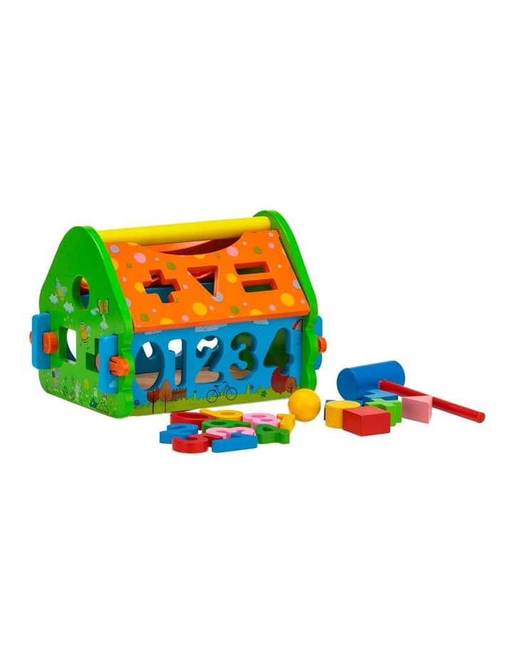 Wooden Toy Playhouse image 1