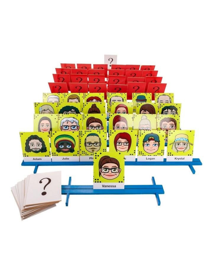 Wooden Mega Wwho 10 Frames & 72 Face Cards image 1
