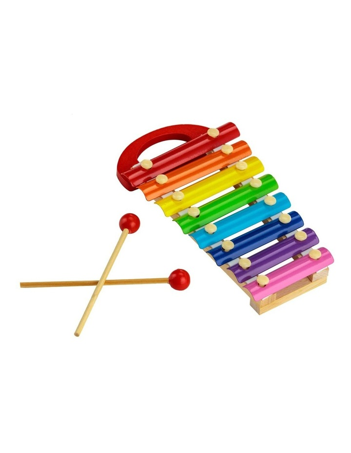 Colourful Musical Xylophone With Wooden Mallets image 2