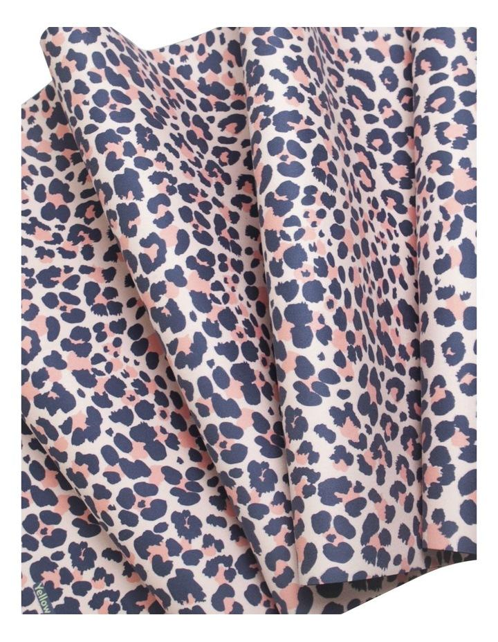 Blush Leopard Non-Slip Yoga Towel image 2