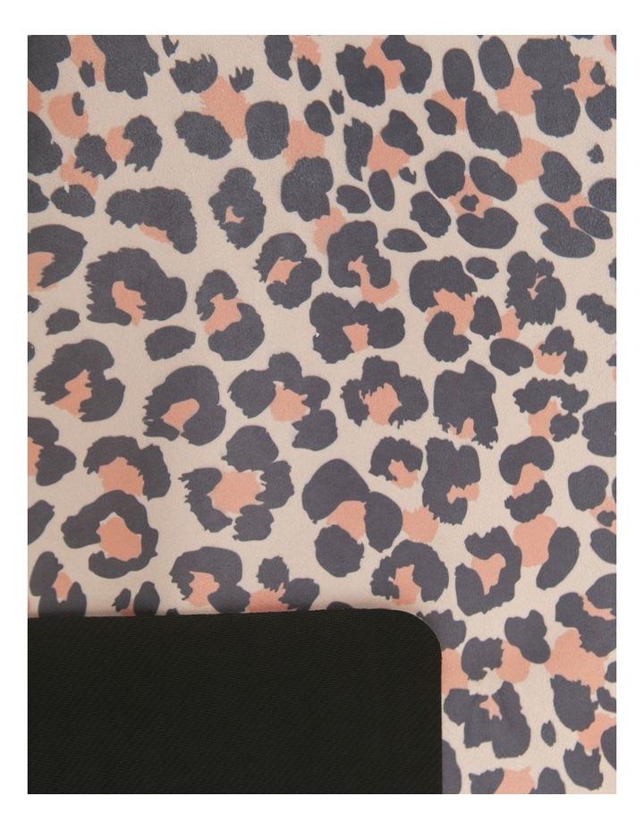 Blush Leopard Non-Slip Yoga Towel image 4