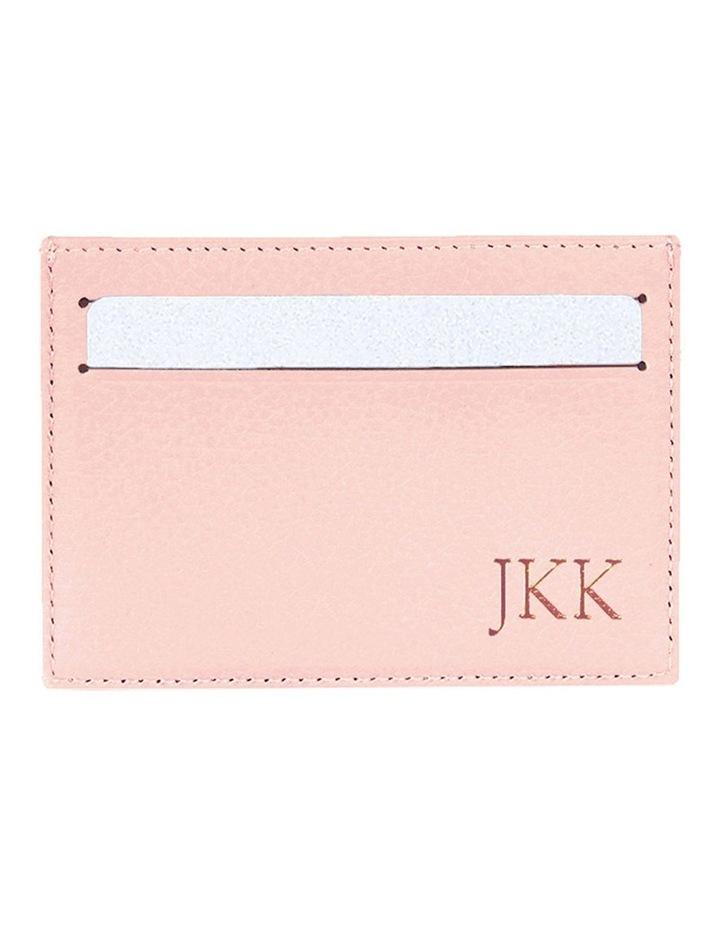 Grainy Blush Card Holder image 1