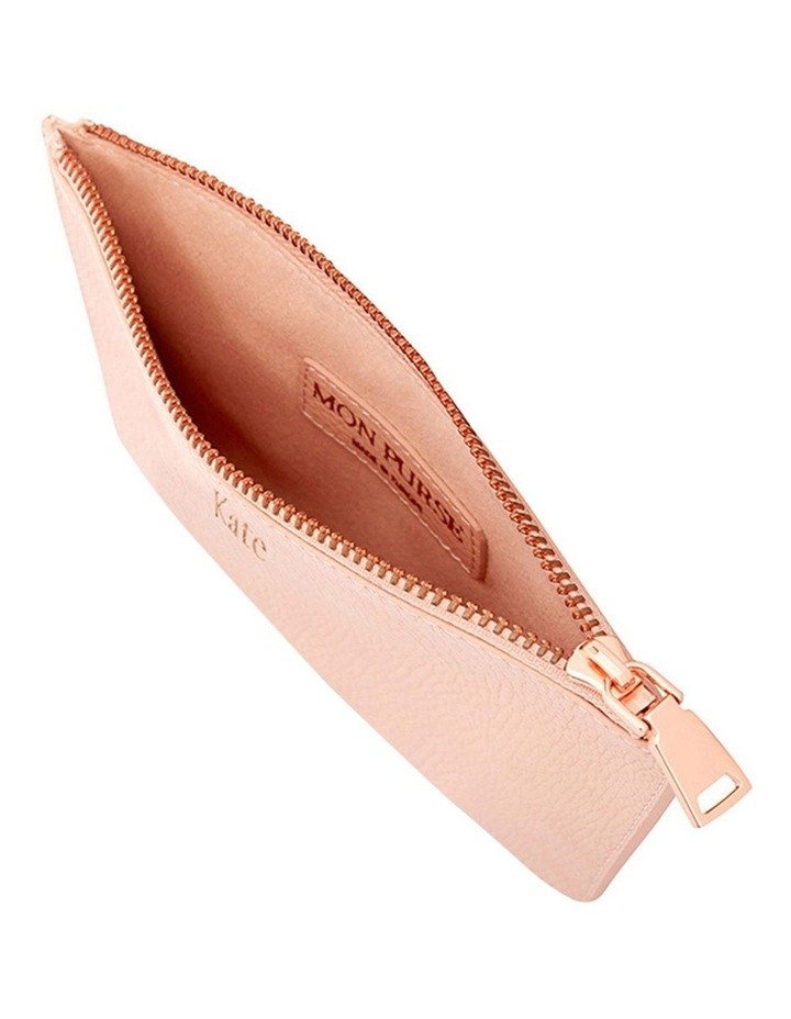 Grainy Blush Small Pouch (Rose Gold Zip) image 3