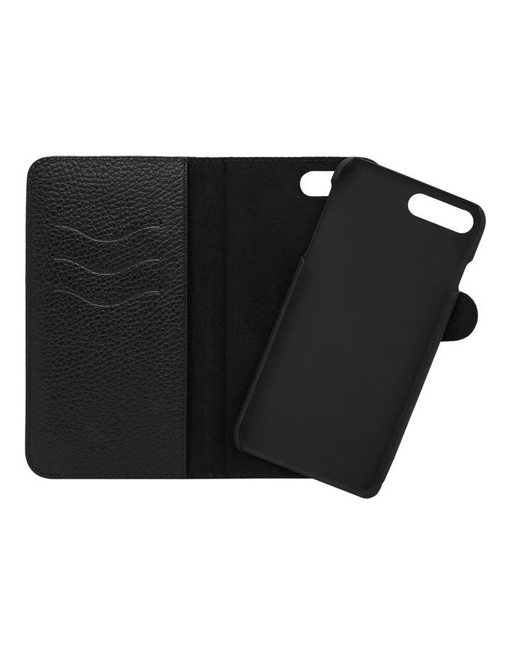 Grainy Black iPhone 7 Plus Case Set image 1