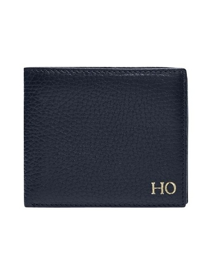 Grainy Navy Men's Convertible Wallet image 1