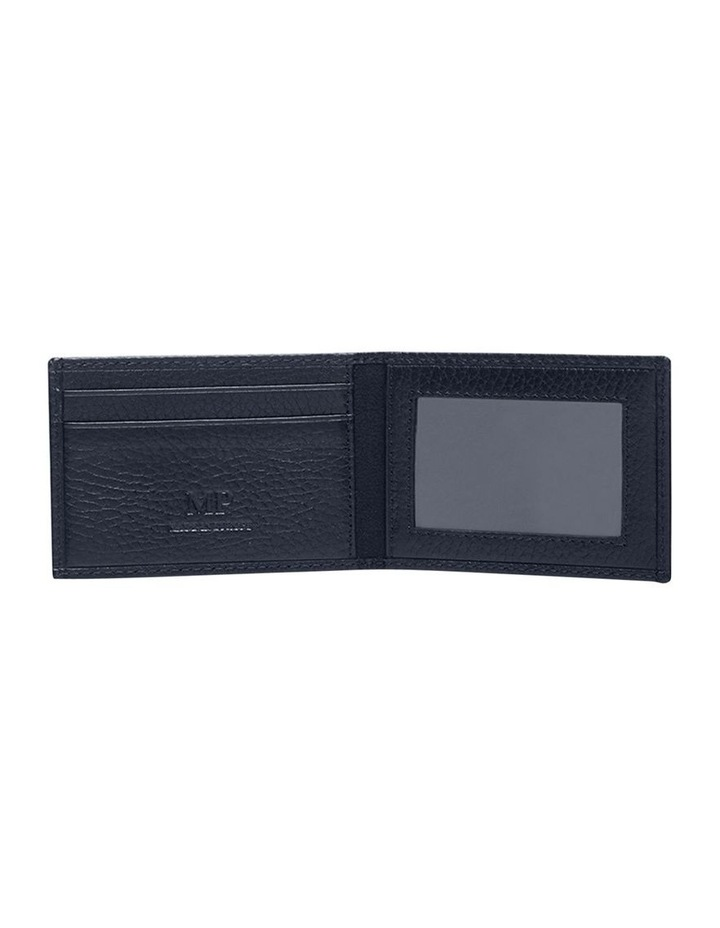 Grainy Navy Men's Convertible Wallet image 3