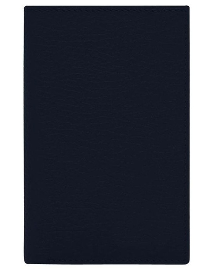 Grainy Navy Men's Small Bifold Wallet image 3