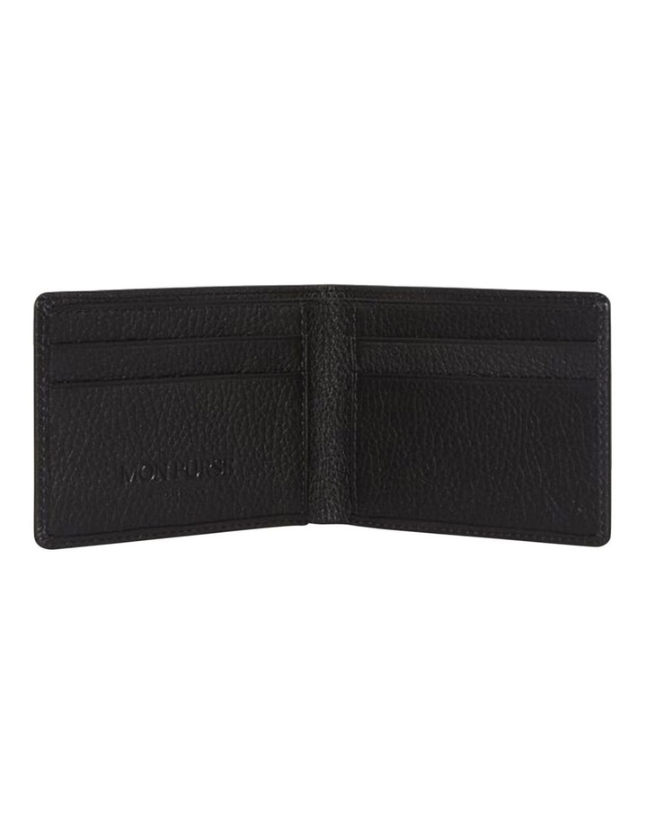 Grainy Black Men's Wallet image 2