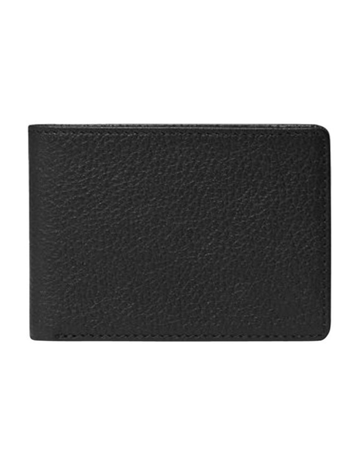 Grainy Black Men's Wallet image 3