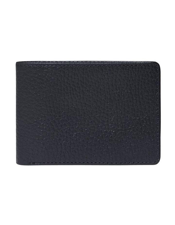 Grainy Navy Men's Wallet image 3