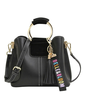 3529b1f67db9 Belle   BloomTwilight Leather Cross Body Bag Black. Belle   Bloom Twilight Leather  Cross Body Bag Black