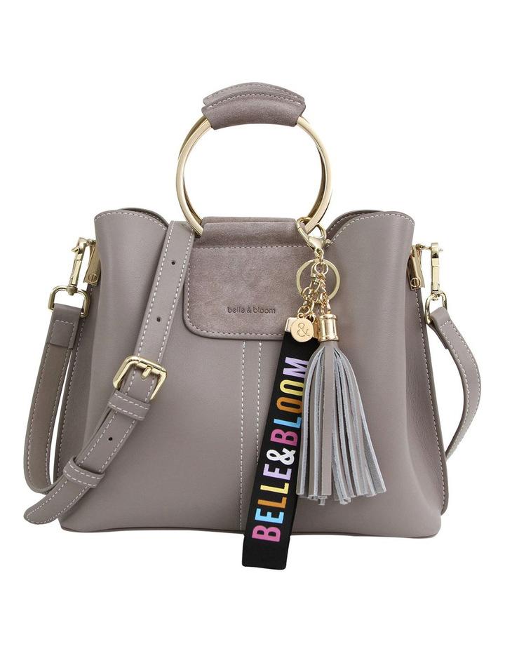 Twilight Leather Cross Body Bag Grey image 1