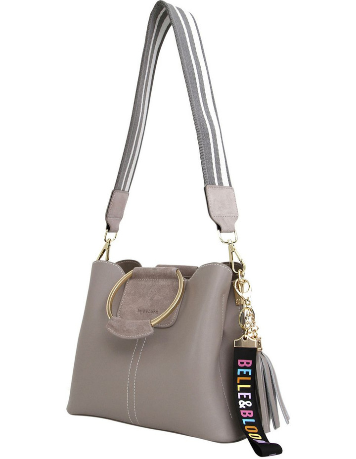 Twilight Leather Cross Body Bag Grey image 2