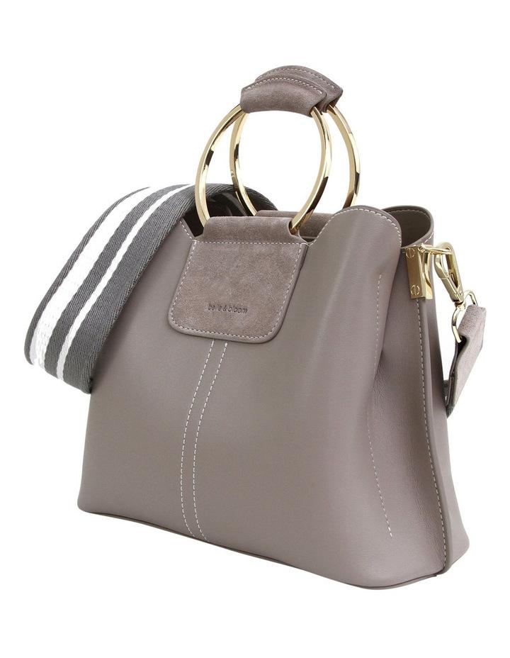 Twilight Leather Cross Body Bag Grey image 3