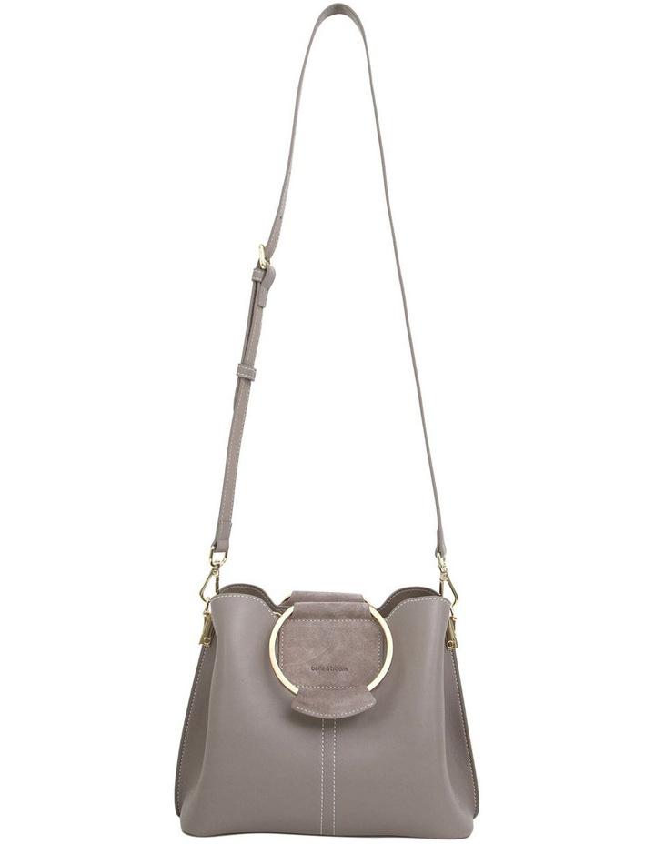 Twilight Leather Cross Body Bag Grey image 4