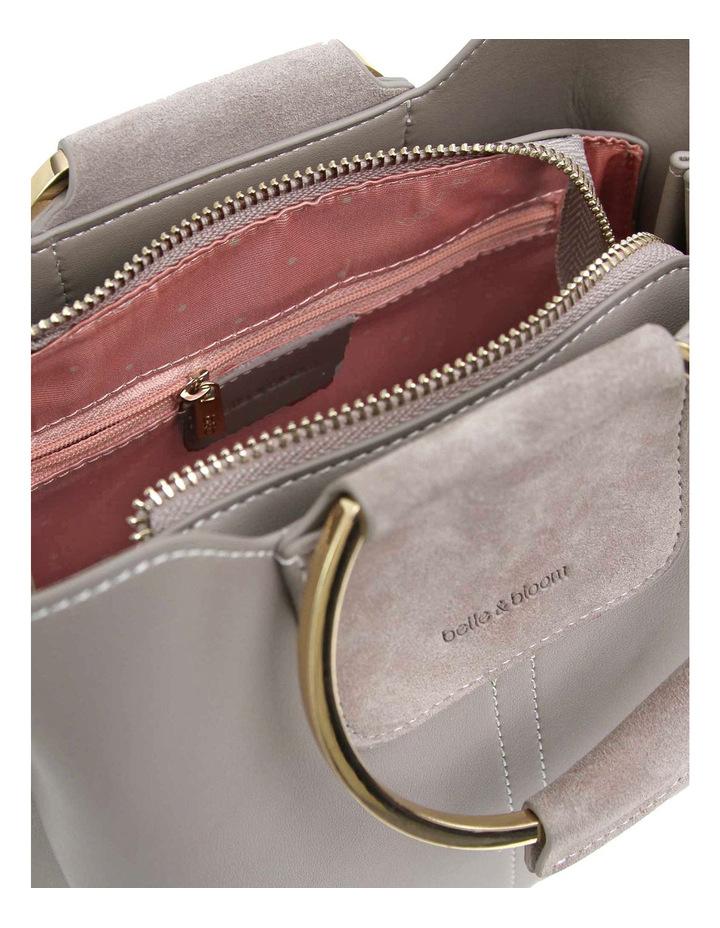 Twilight Leather Cross Body Bag Grey image 5