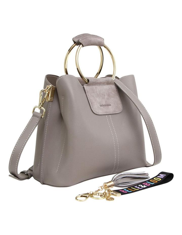 Twilight Leather Cross Body Bag Grey image 6
