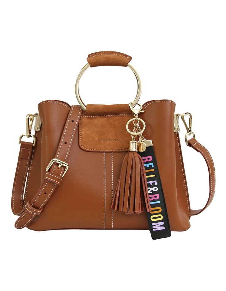 Twilight Leather Cross Body Bag Brown image 1