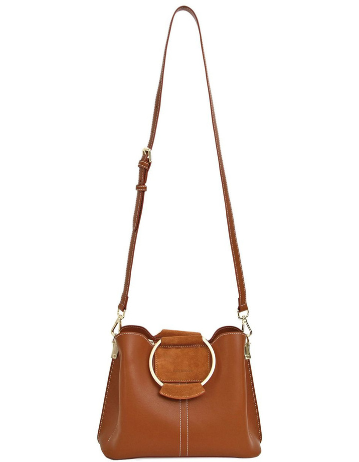 Twilight Leather Cross Body Bag Brown image 4