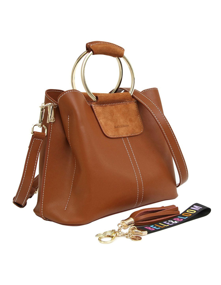 Twilight Leather Cross Body Bag Brown image 6