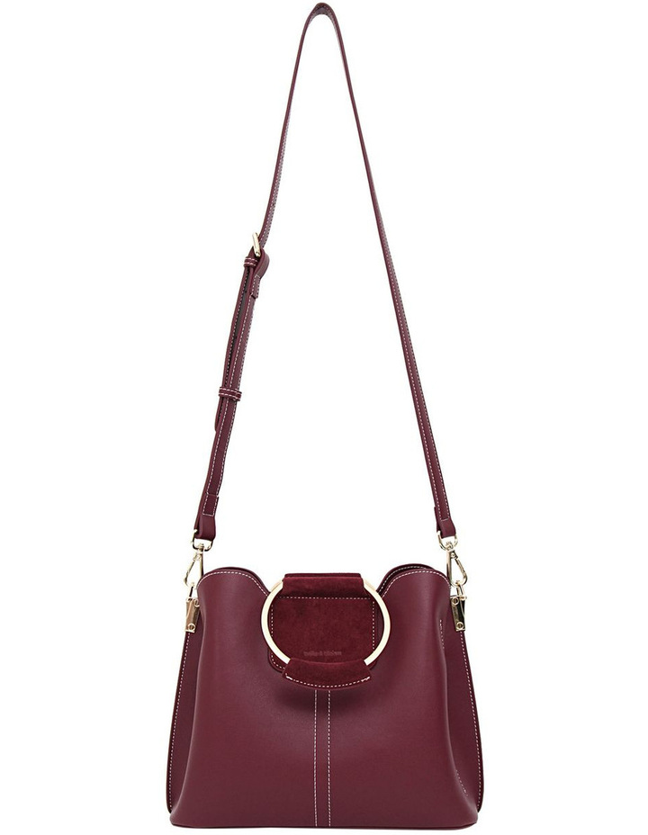 Twilight Leather Cross Body Bag Wine image 2