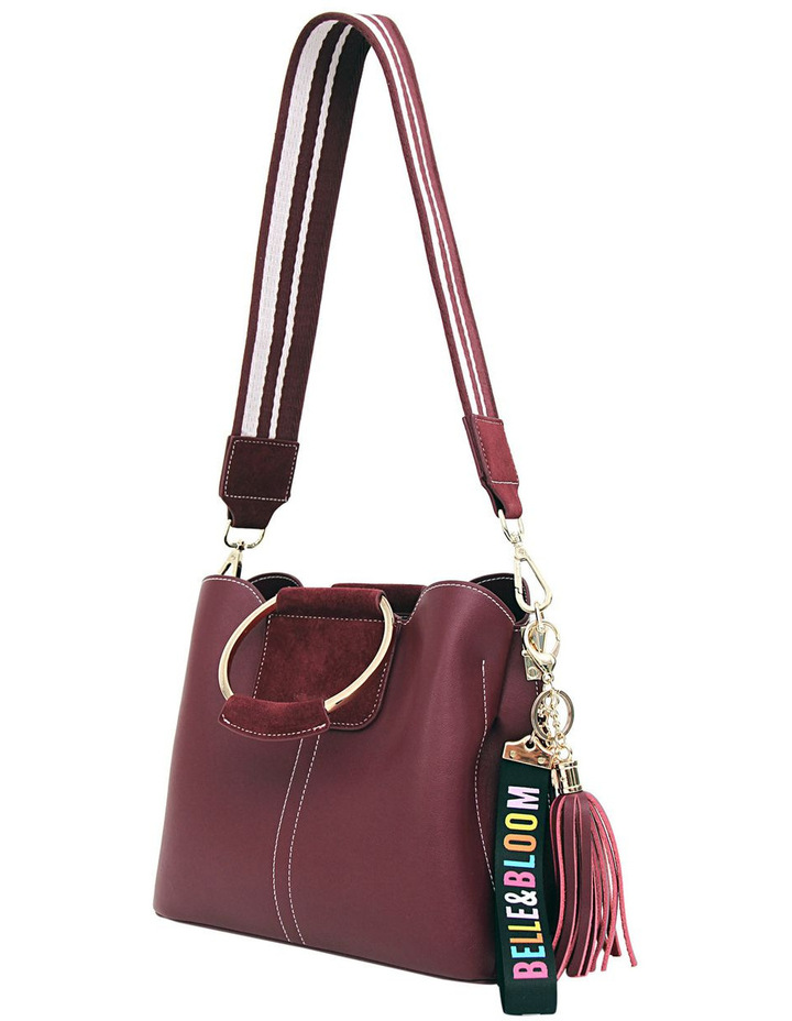 Twilight Leather Cross Body Bag Wine image 3