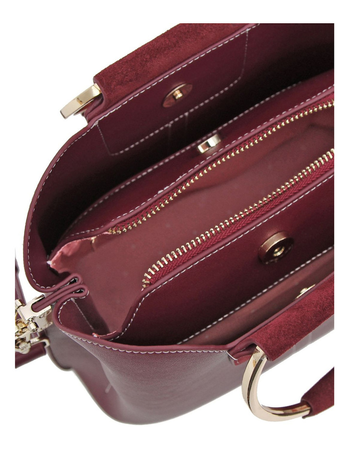 Twilight Leather Cross Body Bag Wine image 4