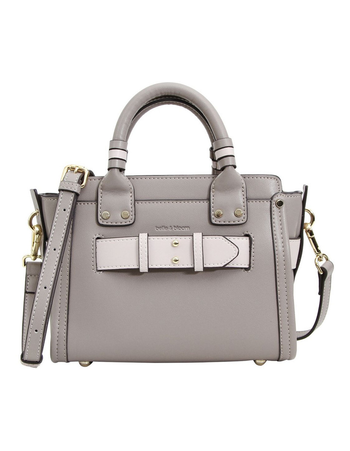 Ally Leather Satchel Grey image 1