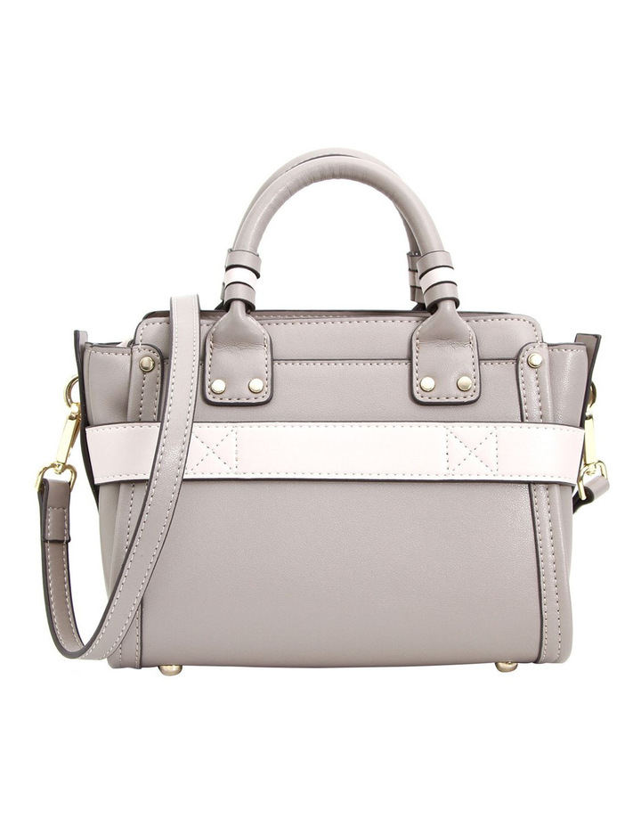 Ally Leather Satchel Grey image 2