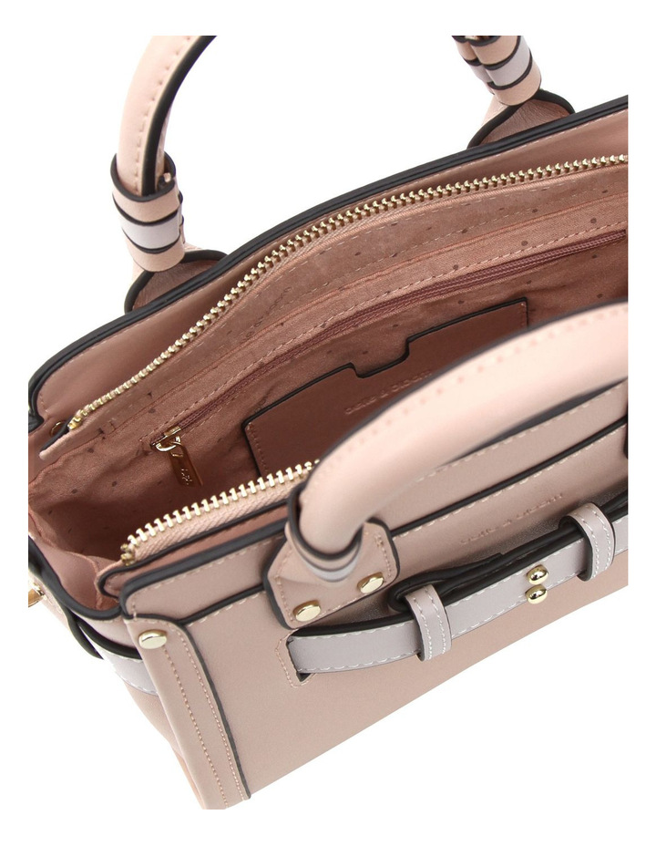 Ally Leather Satchel Blush image 4