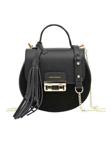 1ed7cdb1d512 Belle   BloomBelmore Exchange Leather Cross Body Bag Black. Belle   Bloom  Belmore Exchange Leather Cross Body Bag Black