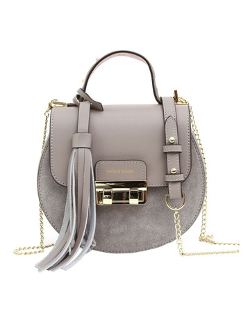Belle   BloomBelmore Exchange Leather Cross Body Bag Grey. Belle   Bloom  Belmore Exchange Leather Cross Body Bag Grey 6af56d6c4fec1