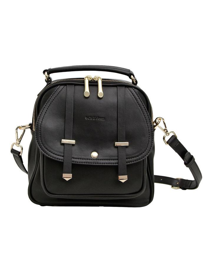 Camila Leather Backpack Black image 1
