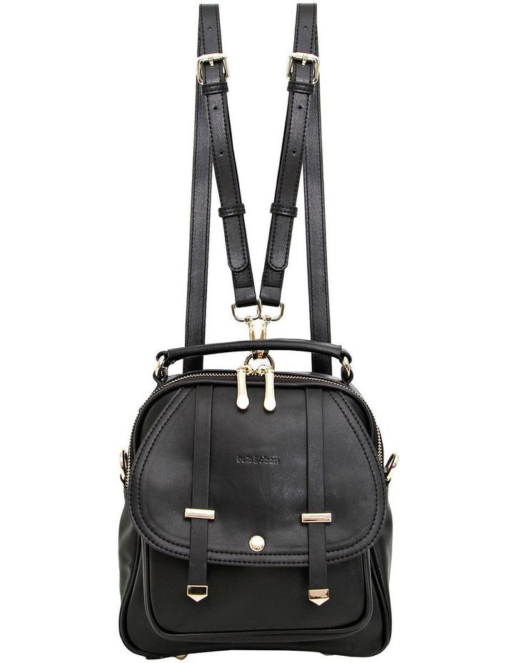 Camila Leather Backpack Black image 2