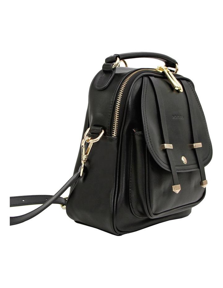 Camila Leather Backpack Black image 5