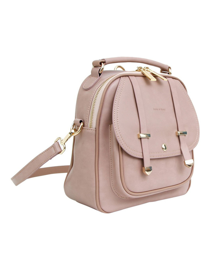 Camila Leather Backpack Dusty Pink image 2
