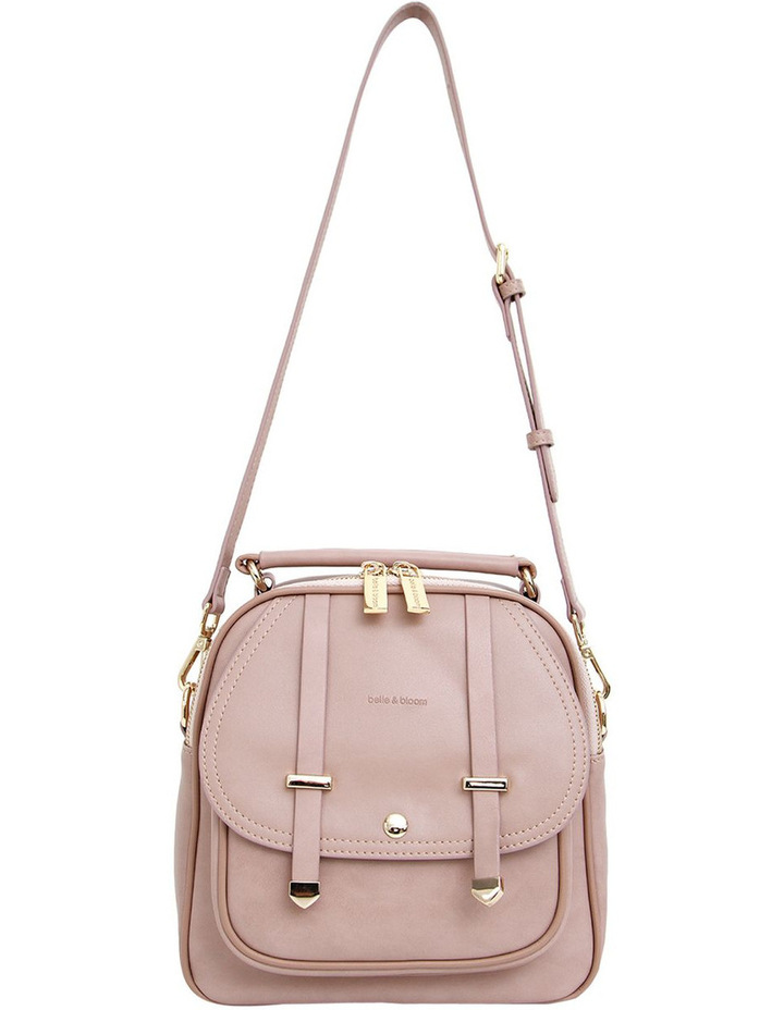 Camila Leather Backpack Dusty Pink image 4