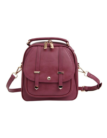 0140206a8ff2 Belle   BloomCamila Leather Backpack Purple. Belle   Bloom Camila Leather  Backpack Purple. price