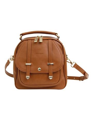 Belle   Bloom Camila Leather Backpack Brown b803c11d9f7cf