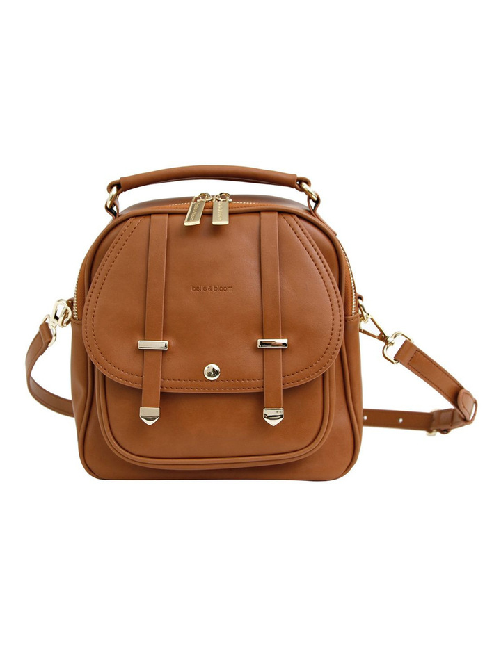 Camila Leather Backpack Brown image 1