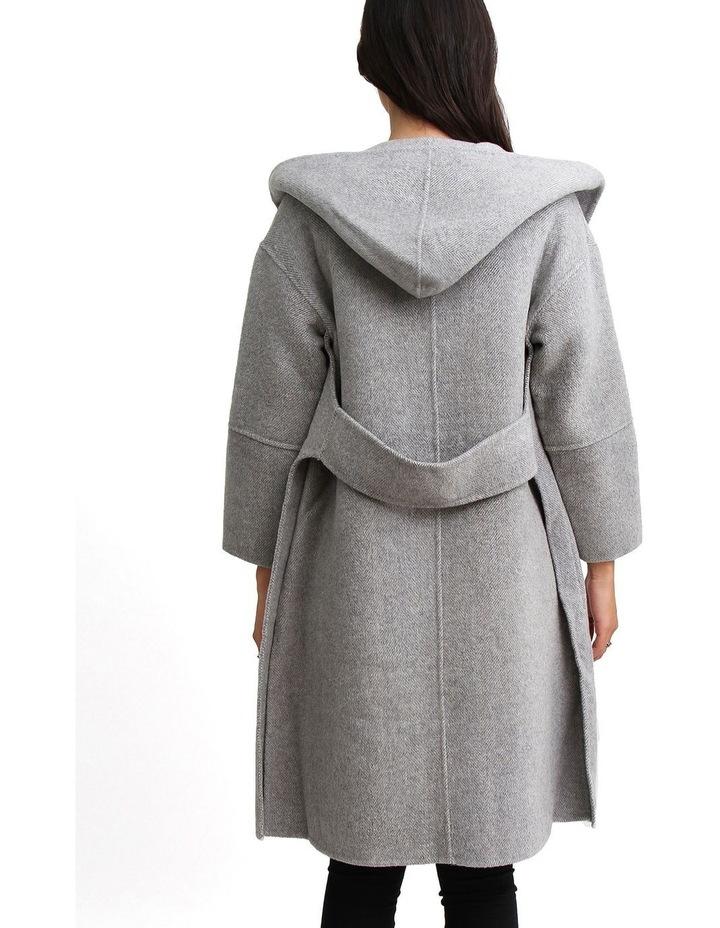 Walk This Way Grey Wool Blend Oversized Coat image 5