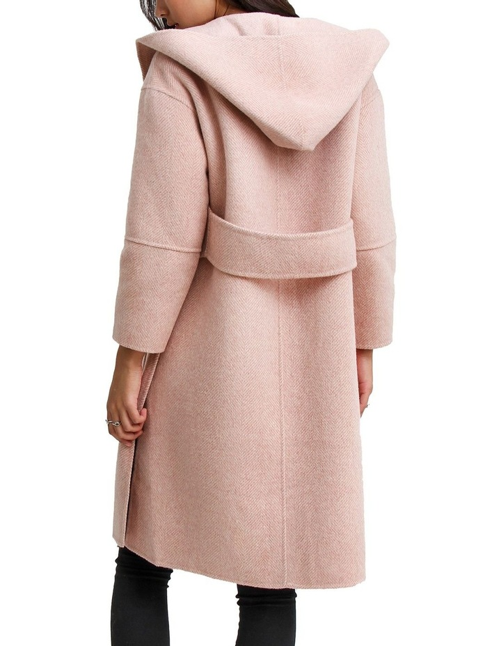 Walk This Way Blush Wool Blend Oversized Coat image 5