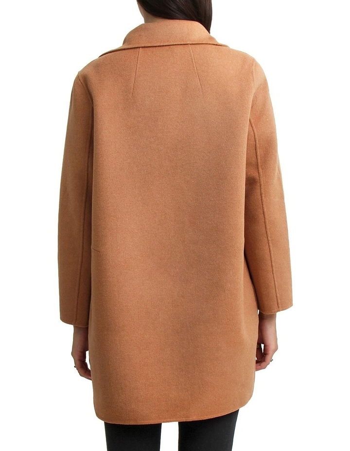 Ex-Boyfriend Camel Wool Blend Oversized Jacket image 3