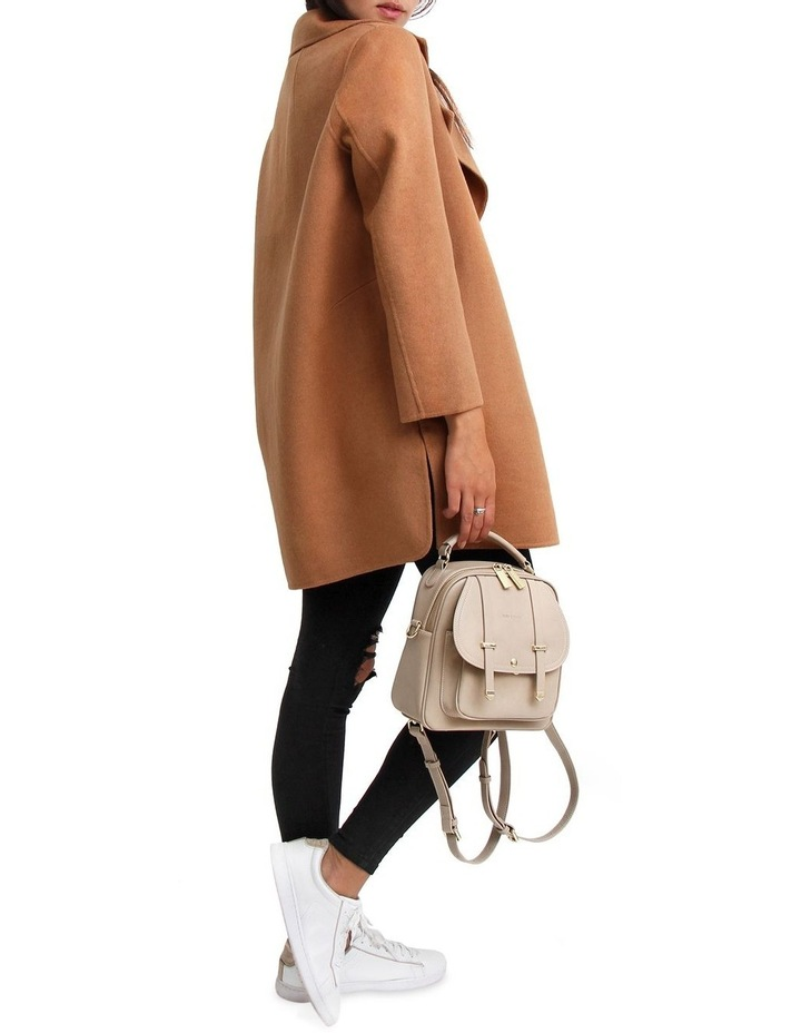 Ex-Boyfriend Camel Wool Blend Oversized Jacket image 6