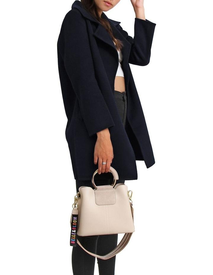 Ex-Boyfriend Navy Wool Blend Oversized Jacket image 2
