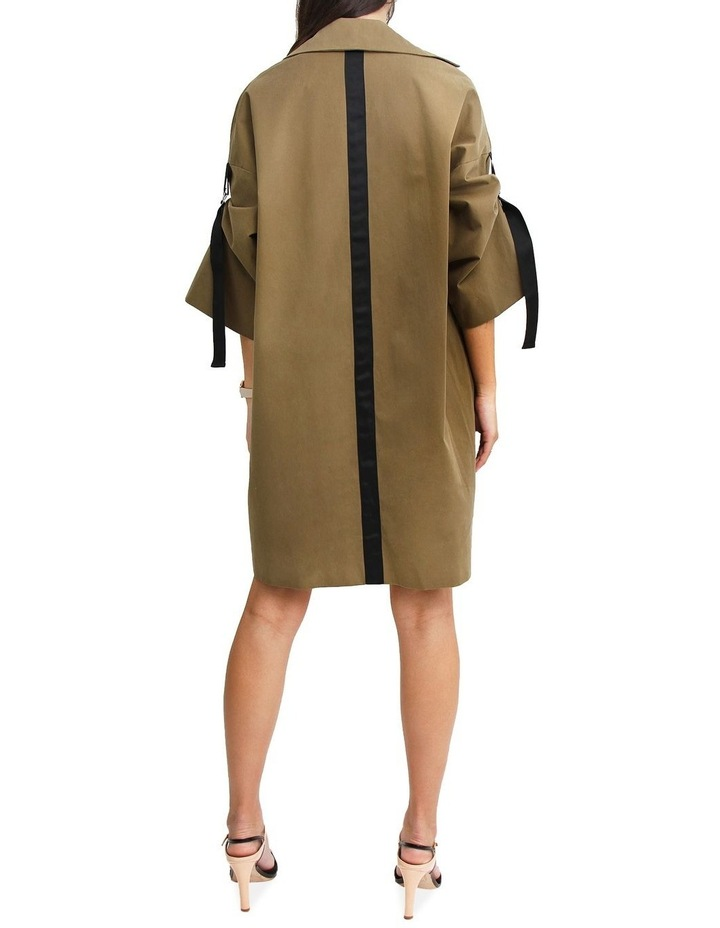Russian Romance Military Oversized Trench Coat image 2