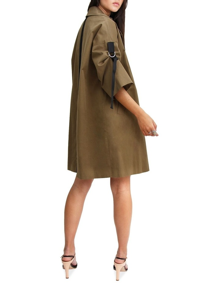 Russian Romance Military Oversized Trench Coat image 3