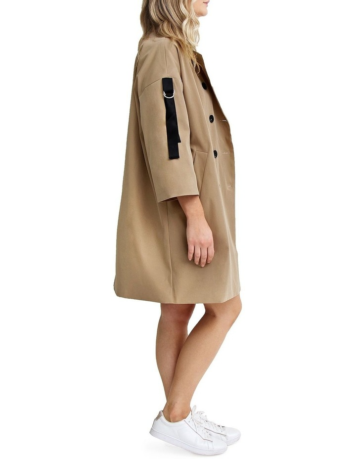 Russian Romance Camel Oversized Trench Coat image 3